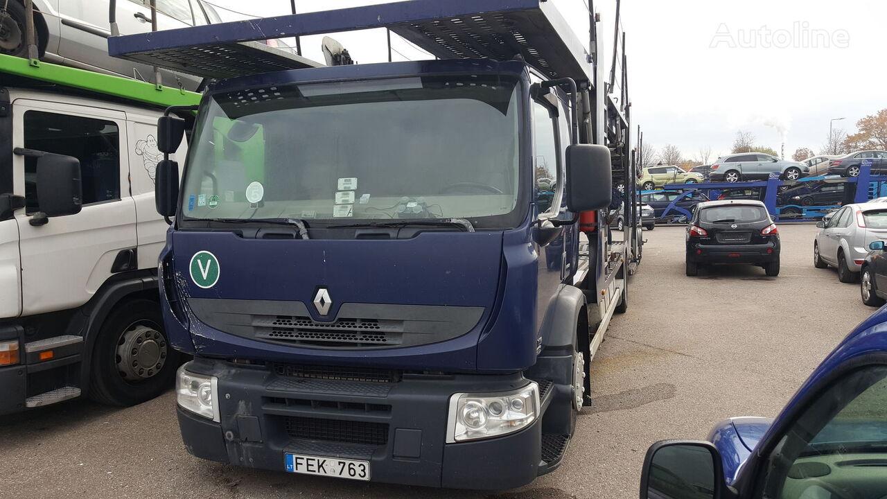 nákladné vozidlo na prepravu automobilov RENAULT Premium 410.19 + príves na prepravu automobilov
