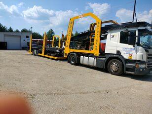 nákladné vozidlo na prepravu automobilov SCANIA Eurolohr + príves na prepravu automobilov