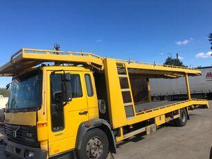nákladné vozidlo na prepravu automobilov VOLVO FL6 4x2 1998 2 level car transporter