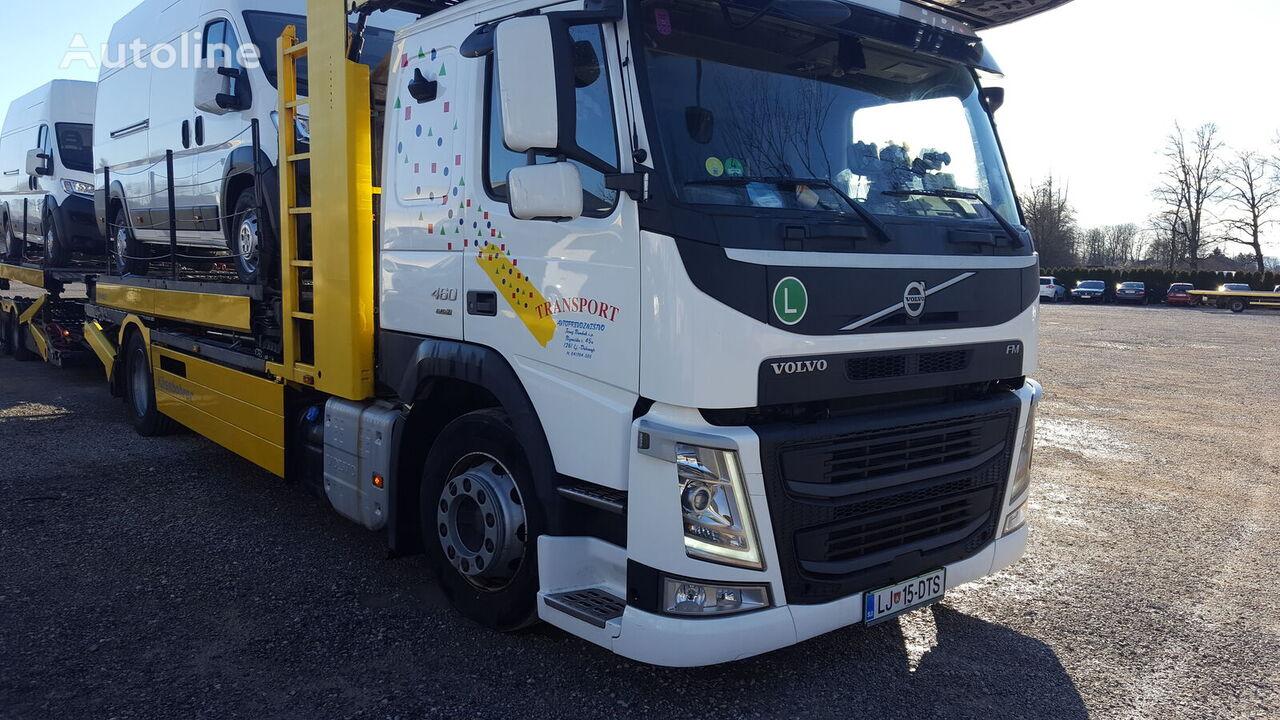 nákladné vozidlo na prepravu automobilov VOLVO FM460