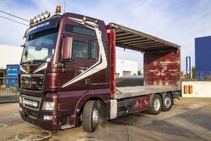 nákladne vozidlo s posuvnou plachtou MAN TGX 26.480 XXL 6X2-4 ( gestuurd/Dir./steering/gelenkt)