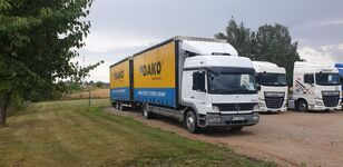 nové nákladne vozidlo s posuvnou plachtou MERCEDES-BENZ Atego 1529 + príves s bočnou plachtou