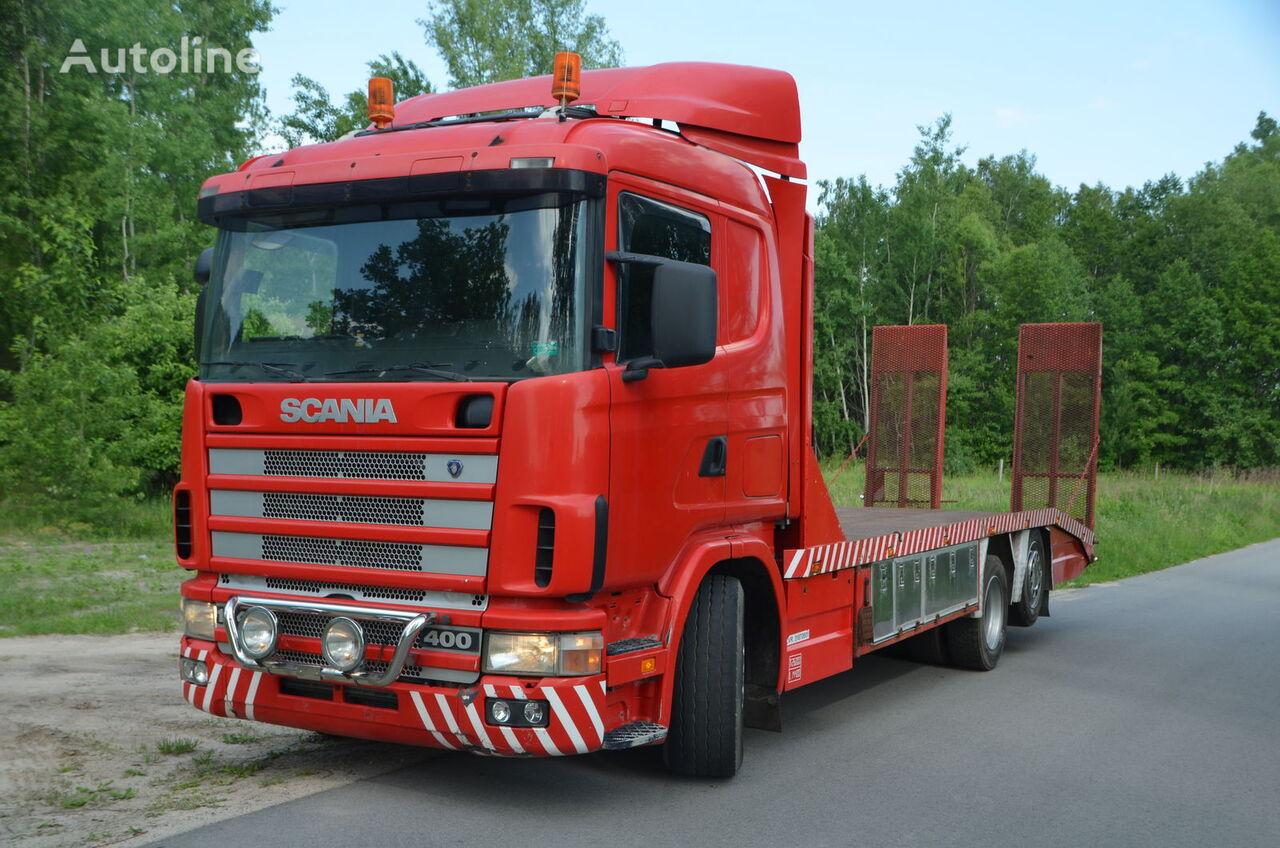 odťahové vozidlo SCANIA 124 L