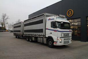 prepravník na prepravu hydiny VOLVO FH12.480 6x4 + skriňový príves