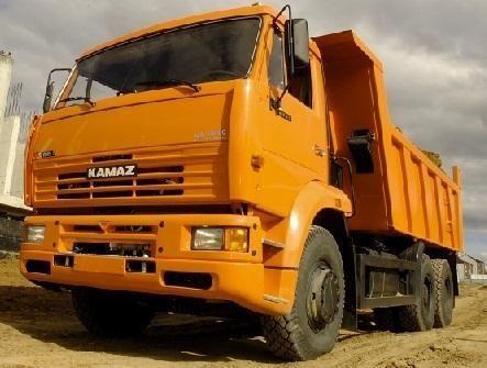 nový sklápač KAMAZ 6520