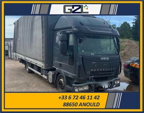 skriňové auto IVECO EUROCARGO 75E18 *ACCIDENTE*DAMAGED*UNFALL* po nehode