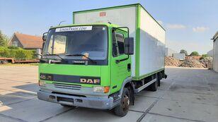 skriňové auto DAF 45.130 Ti 6 Cylinders Euro 2 Spring-Spring