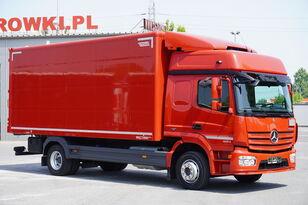skriňové auto MERCEDES-BENZ Atego 1224, E6, 4x2, 6.10m container, GLOB cabin, retarder