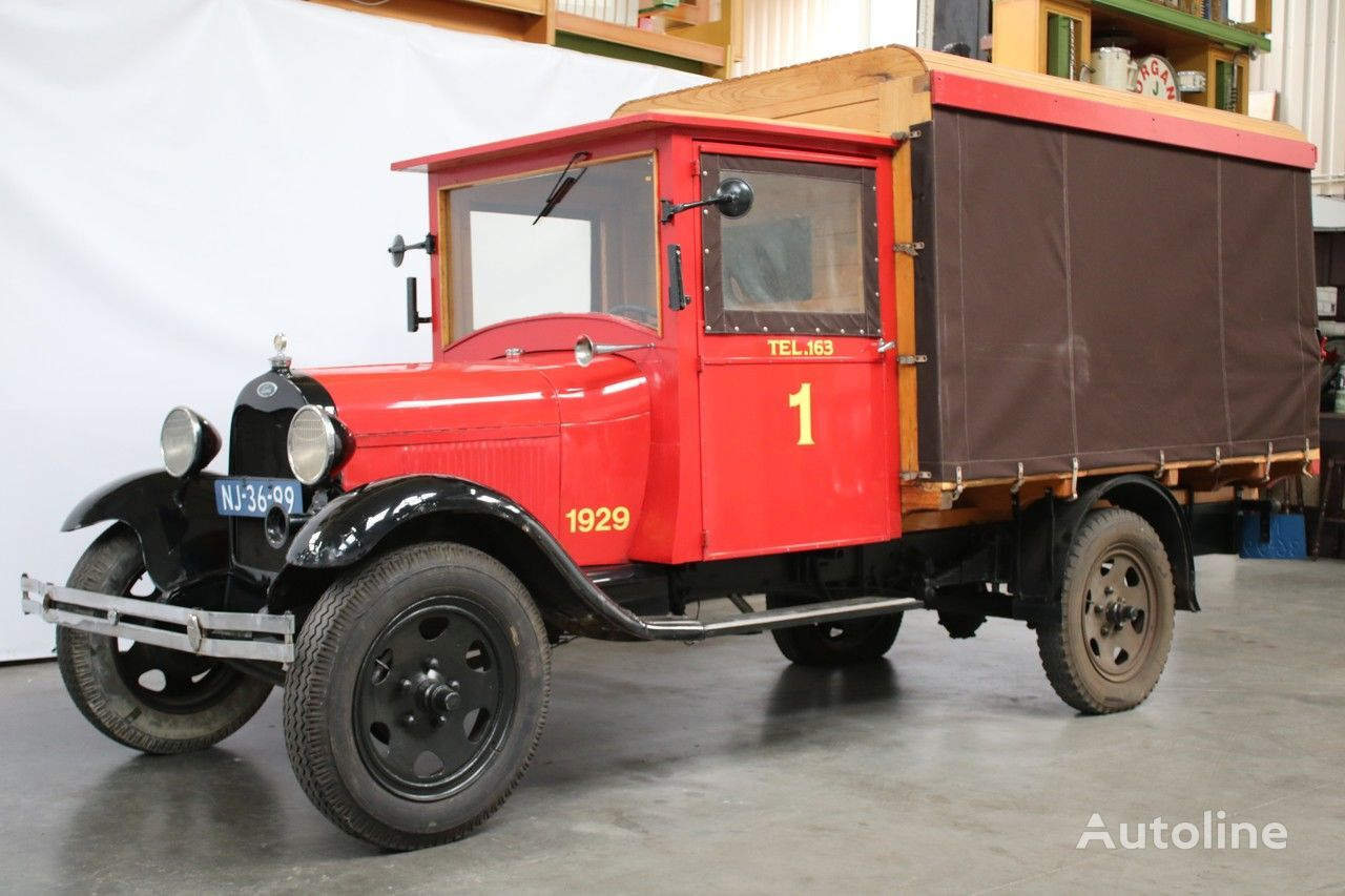 valník s plachtou FORD 1929 MODEL AA