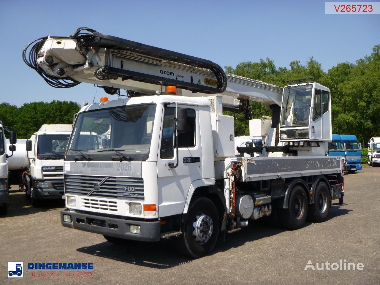 valník VOLVO FL10 Crane truck- PK680TK
