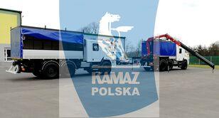 nový vojenský náklaďák KAMAZ 6x6 SERWISOWO-WARSZTATOWY
