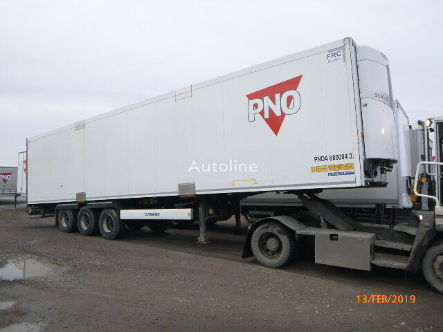 chladiarenský náves KRONE REEFER WITH HUCKEPACK - DRO 123