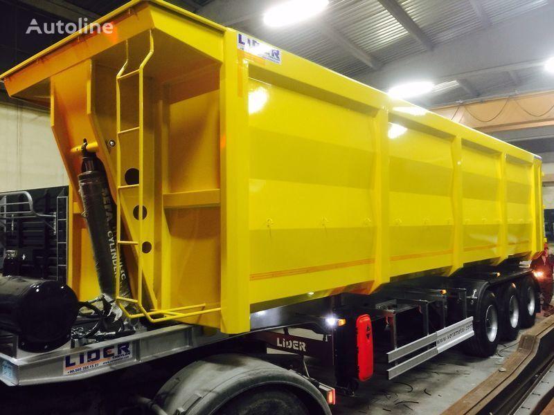 nový náves na prepravu obilia LIDER 2020 NEW TRAILER MANUFACTURER COMPANY