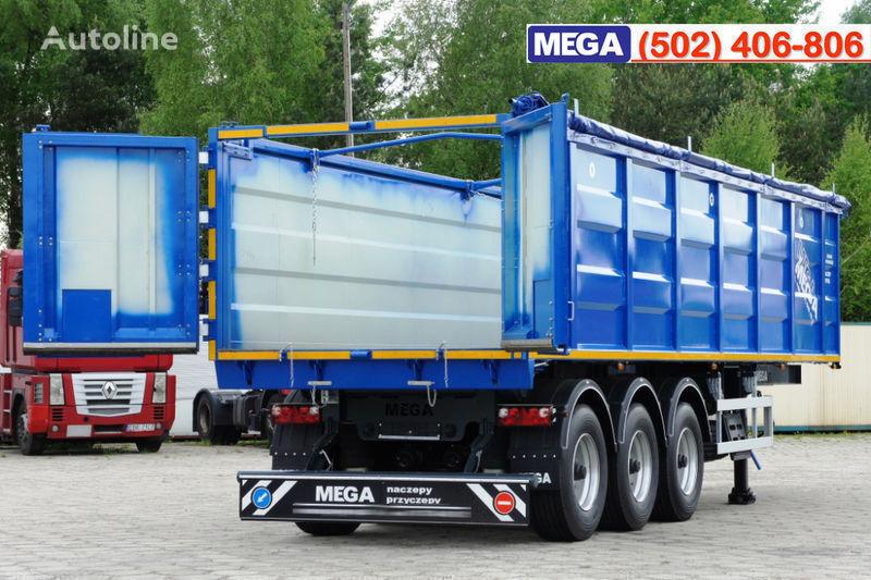 nový náves na prepravu obilia MEGA 38/10200 KD pama k tyagachu 6x4