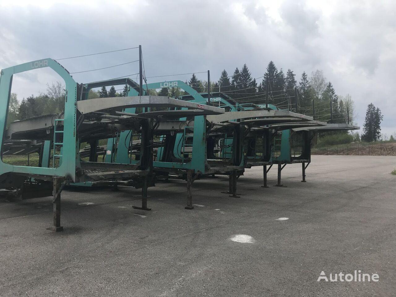 náves na prevoz automobilov LOHR Eurolohr 1.21 EUROLOHR 1.21 FULL GALVANIZED