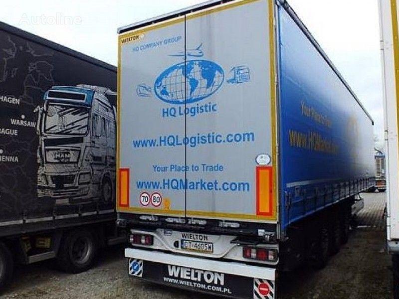náves s bočnou plachtou WIELTON NS-3 K - Curtain semi-trailer