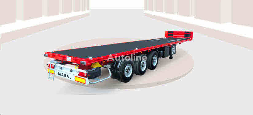 nový plošinový náves Maral Trailer FLAT BED SEMI TRAILER
