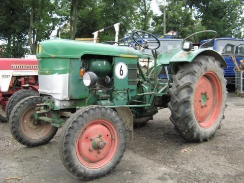 kolesový traktor DEUTZ-FAHR D 25 S-N