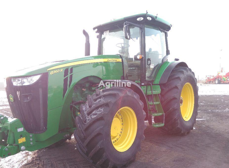 kolesový traktor JOHN DEERE 8360R
