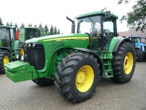 kolesový traktor JOHN DEERE 8410