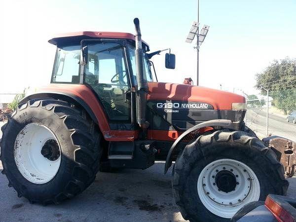 kolesový traktor NEW HOLLAND G190 para peças na náhradné diely