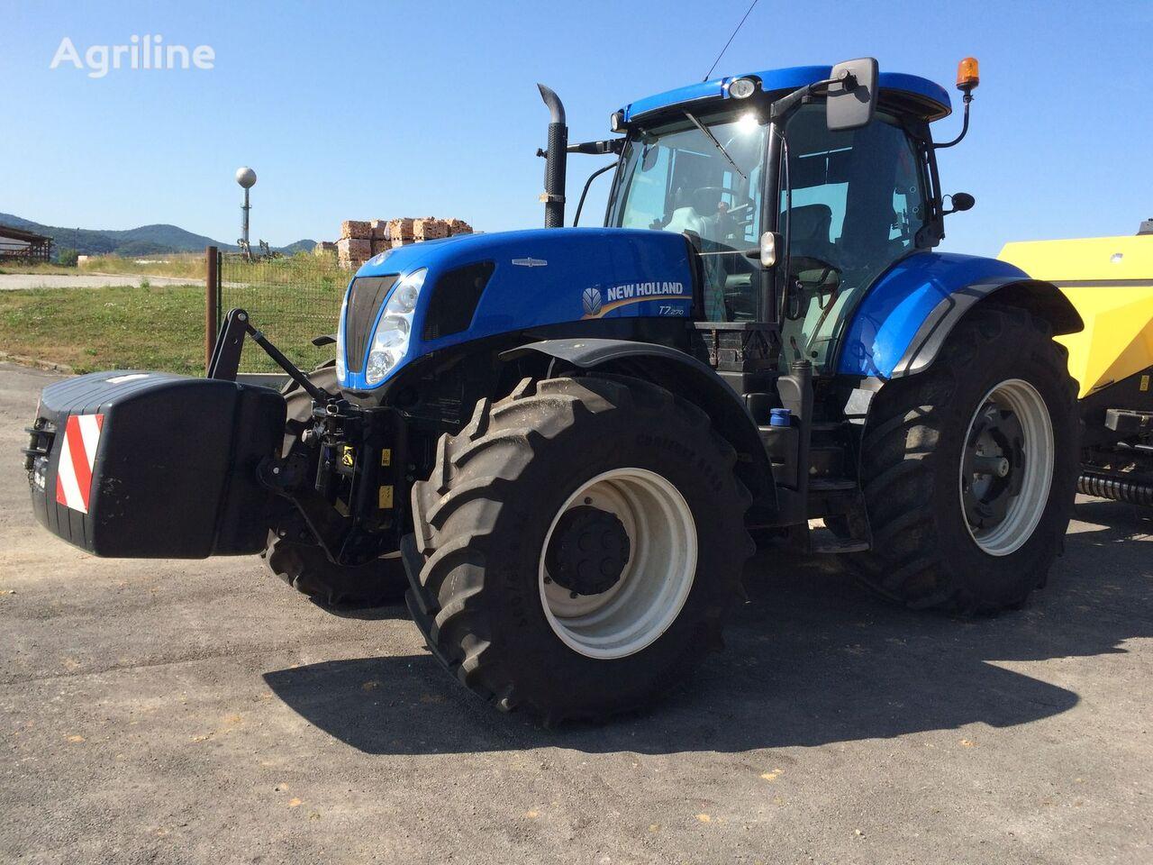 kolesový traktor NEW HOLLAND T 7.270