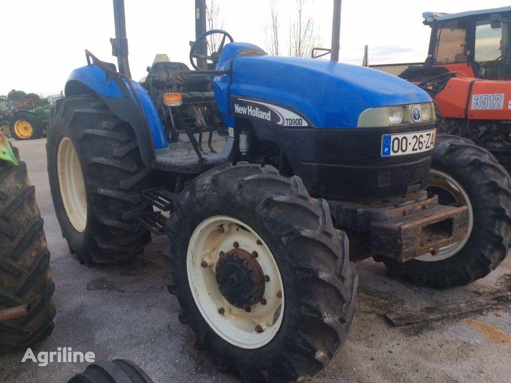 kolesový traktor NEW HOLLAND TD 90 D