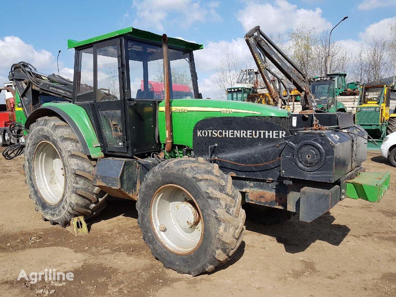 lesný traktor JOHN DEERE 6620 KOTSCHENREUTHER