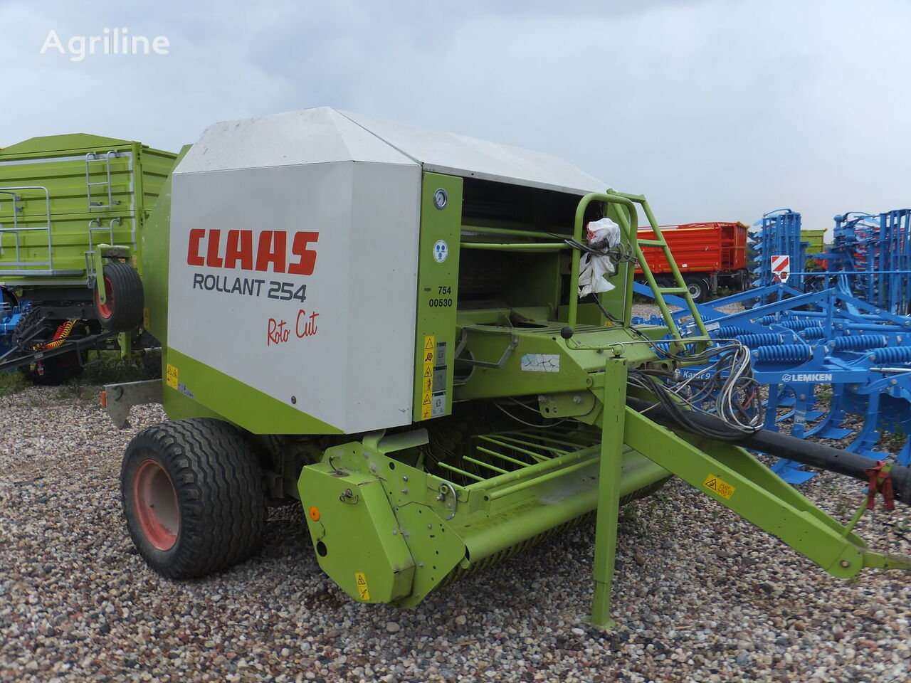 lis na okrúhle balíky CLAAS Rollant 254