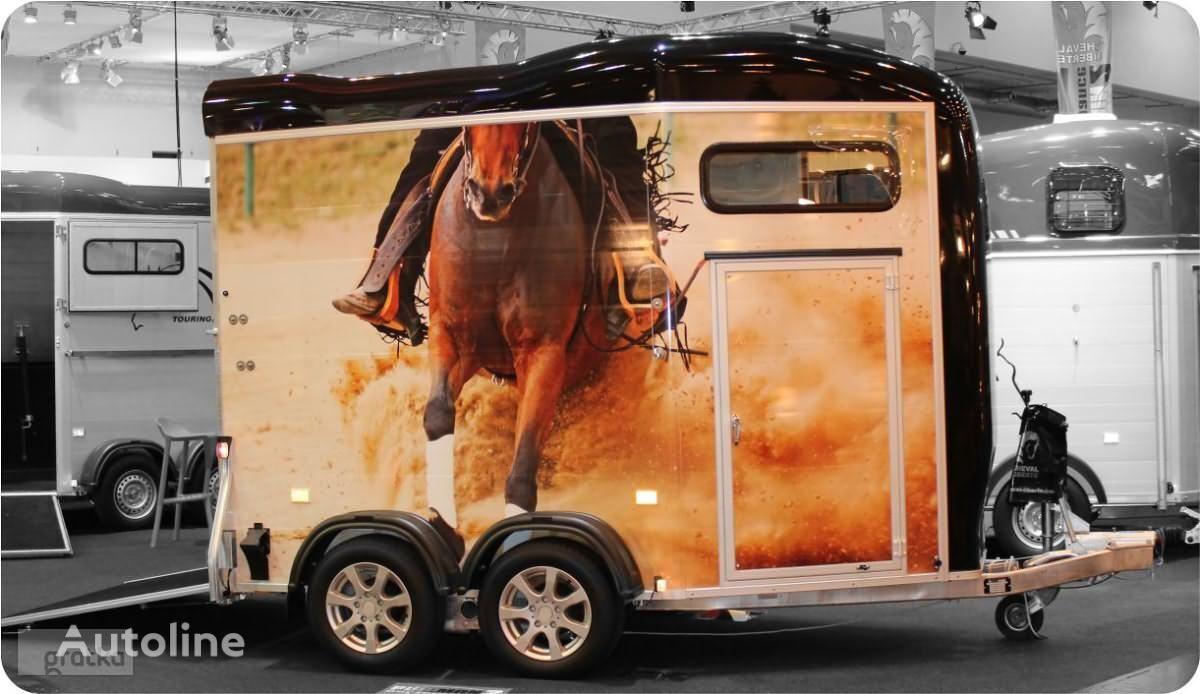 nový príves na prepravu koní Cheval liberte PRZYCZEPA do przewozu koni z przednim wyjściem Gold Touring