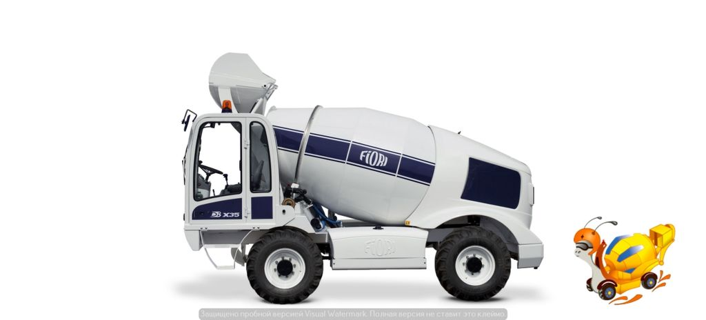 nový autodomiešavač FIORI DB X35
