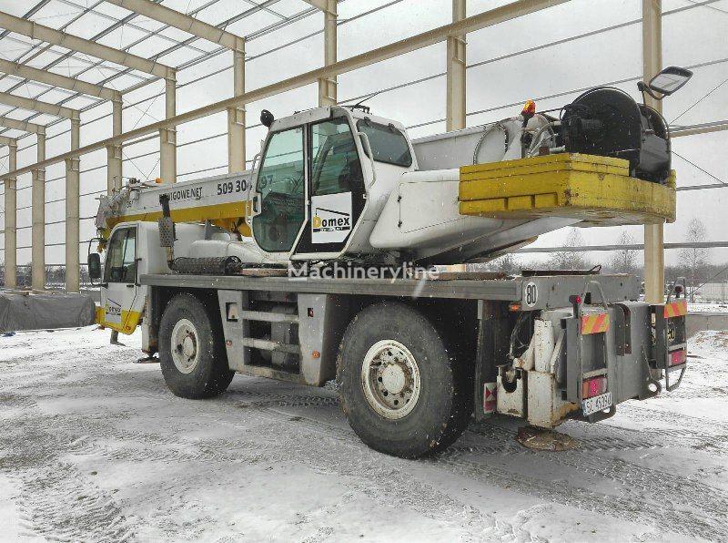 autožeriav PPM ATT 400-2 na podvozku TEREX  PPM