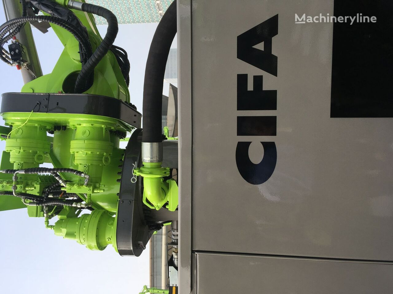 nový čerpadlo na betón CIFA CSS-3