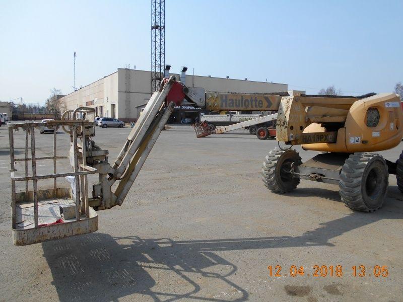 kĺbová pracovná plošina HAULOTTE HA18PX