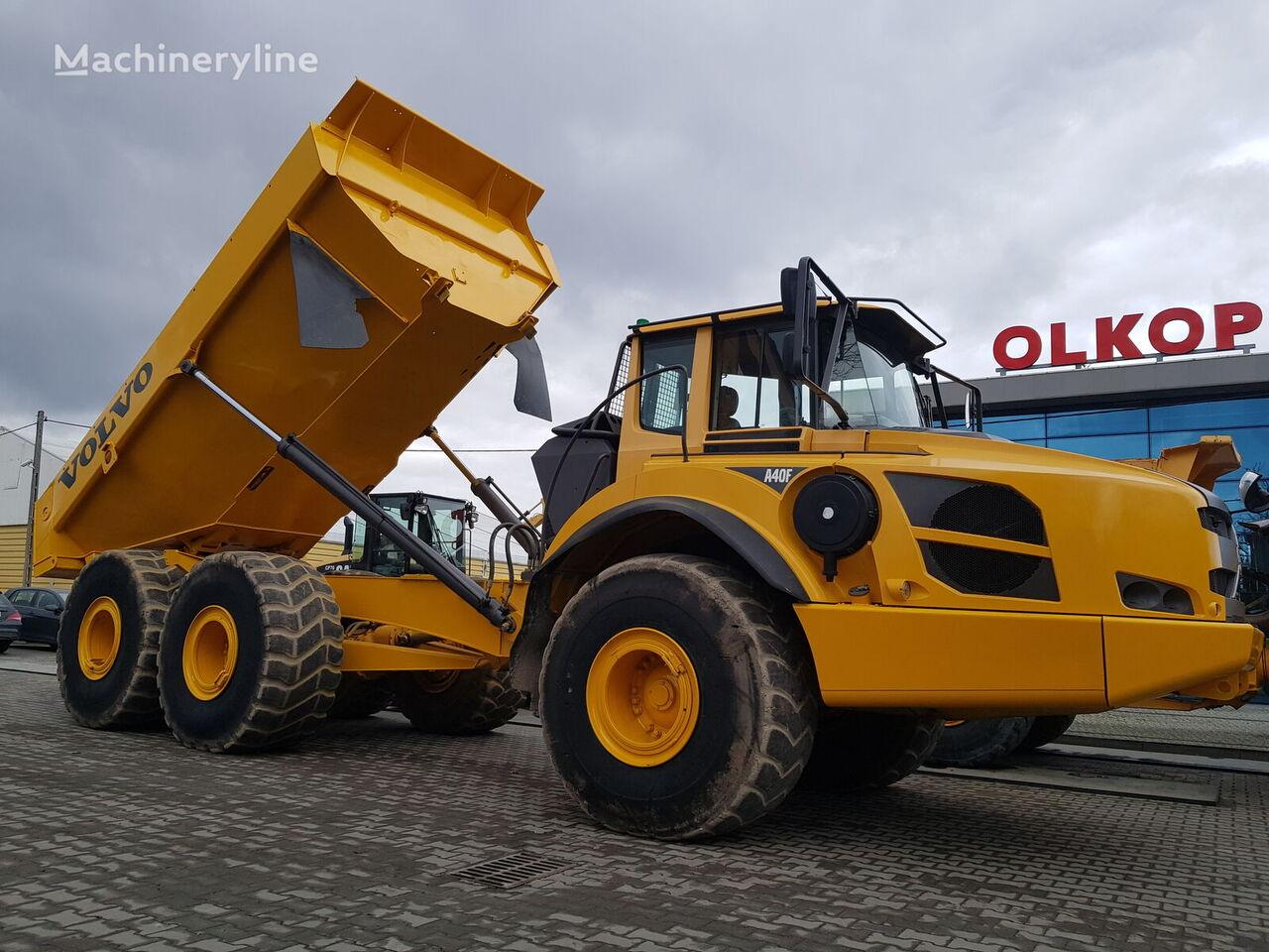 kĺbový dumper VOLVO A40 / 37t. capacity