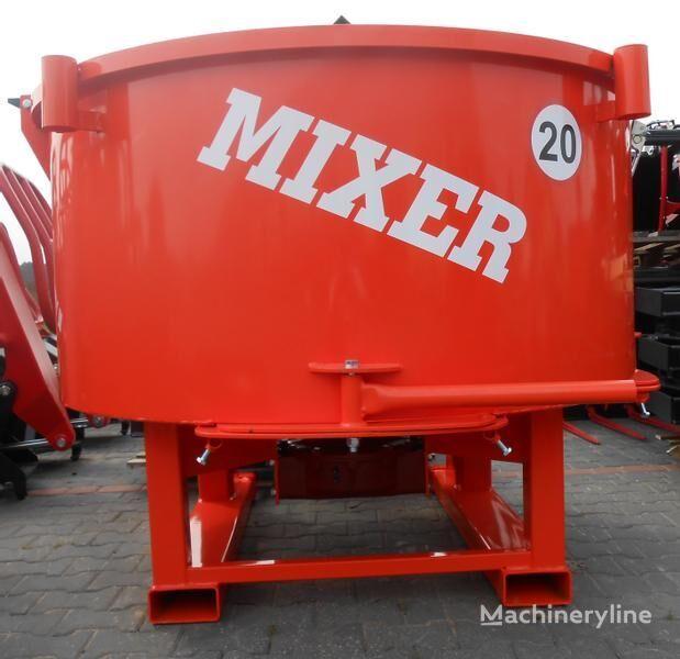 nová miešačka na betón Agro- Factory MIXER Traktor-Betonmischer/ Betoniarka ciągnikowa