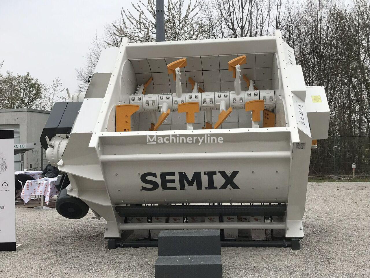 nová miešačka na betón SEMIX Twin Shaft Concrete Mixer TS 3.33
