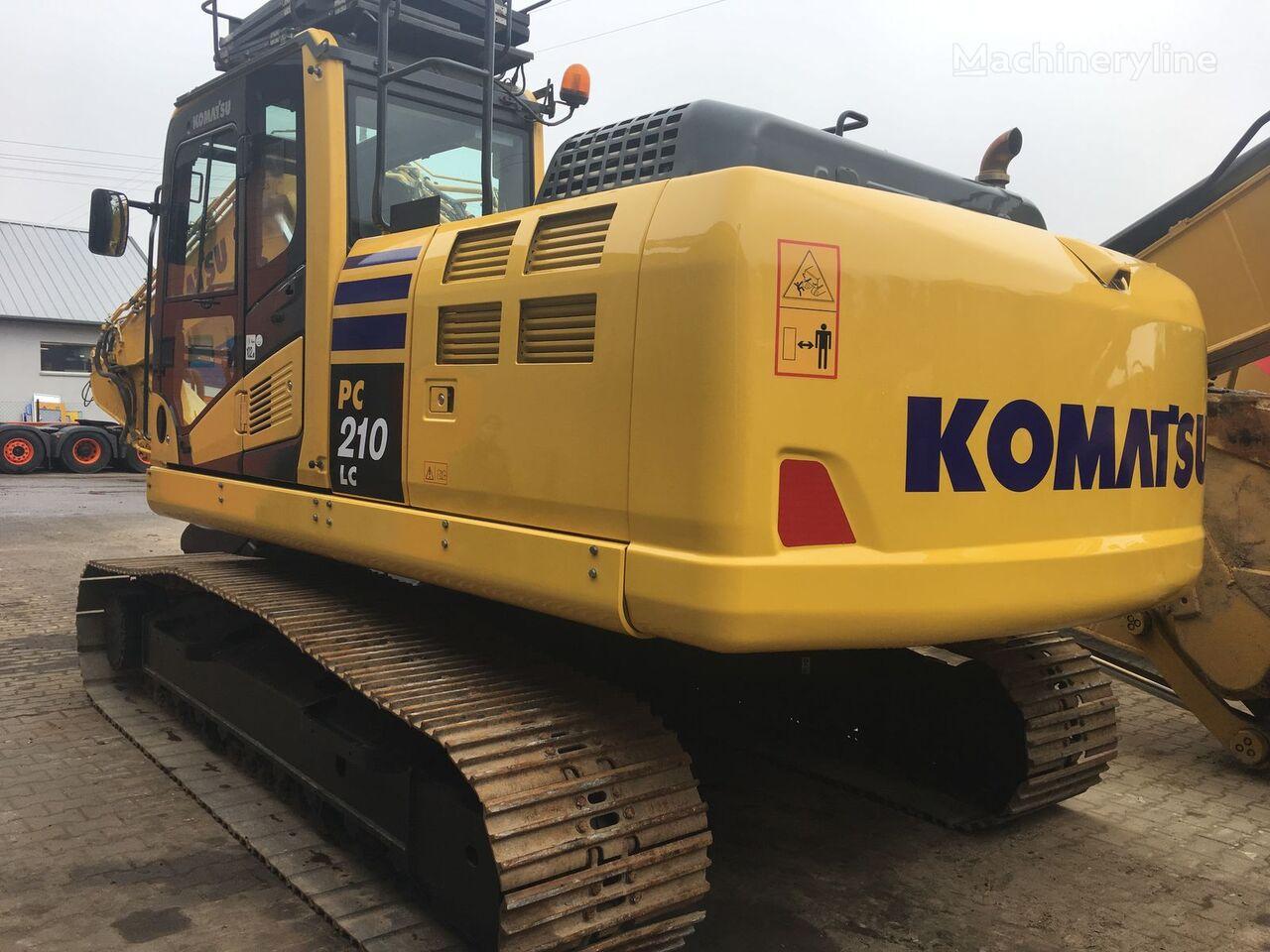 pásové rýpadlo KOMATSU PC210LC-10