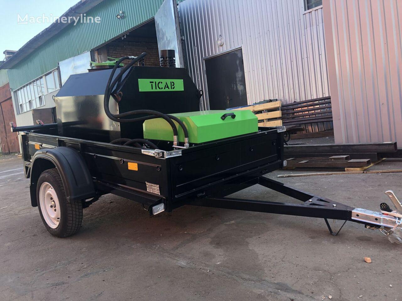 nový rozstrekovač živice Skrapiarka do asfaltu / Asphalt Sprayer TICAB BS-1000