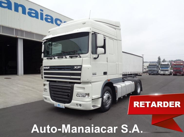 ťahač DAF XF 105.460 SC MANUAL / RETARDER