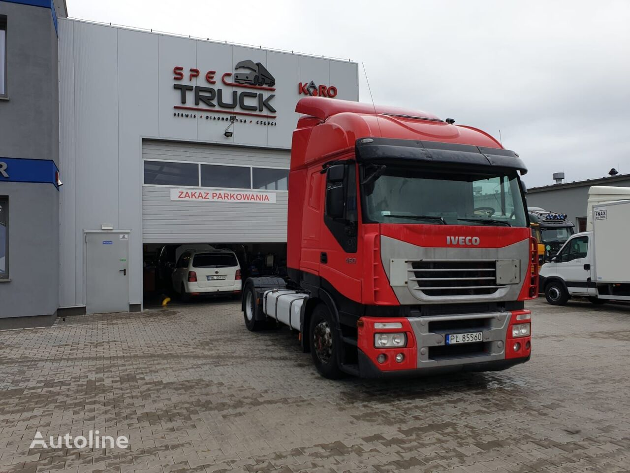 ťahač IVECO Stralis 450, Steel /Air, Manual - M