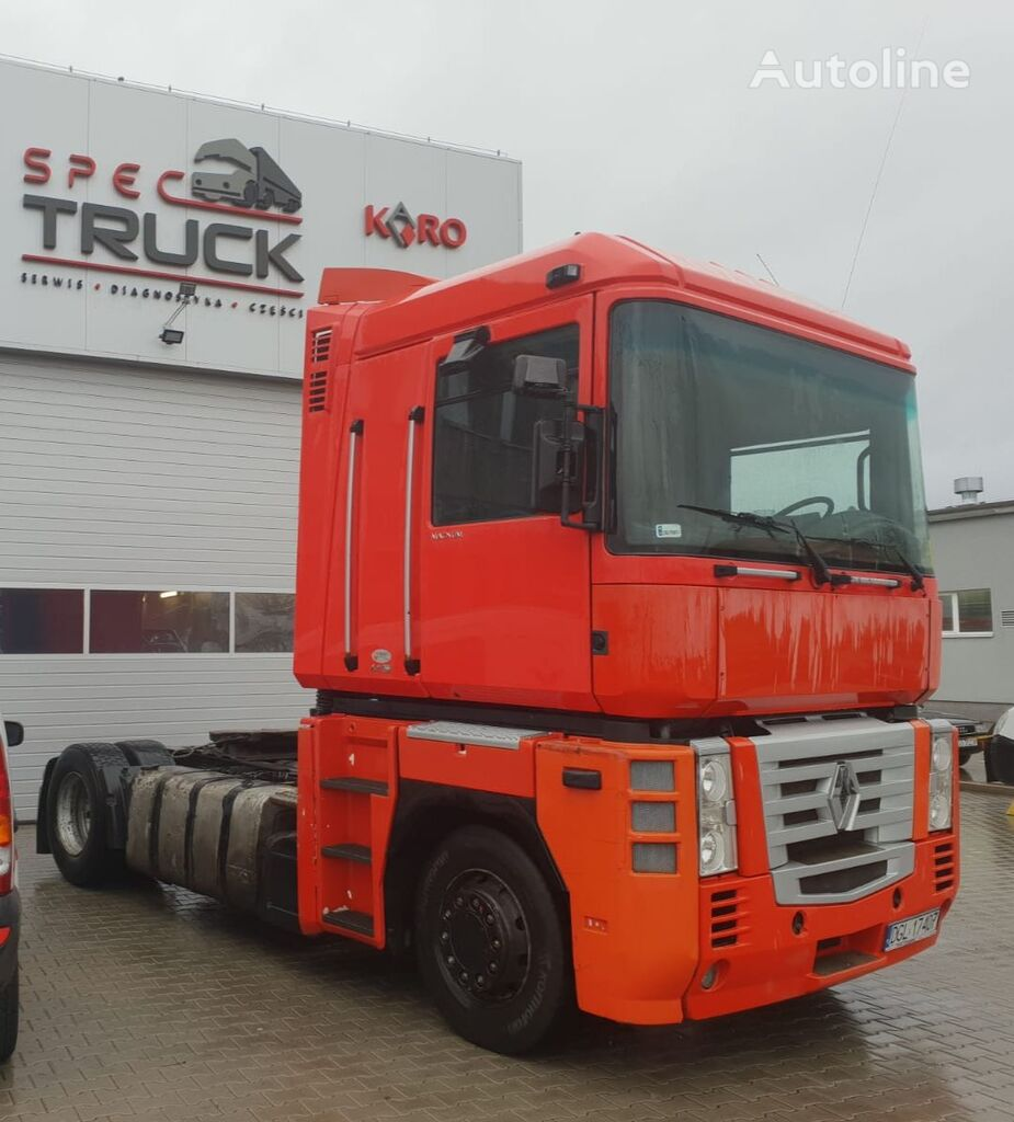 ťahač RENAULT Magnum 440 DXI, Steel / Air, Manual