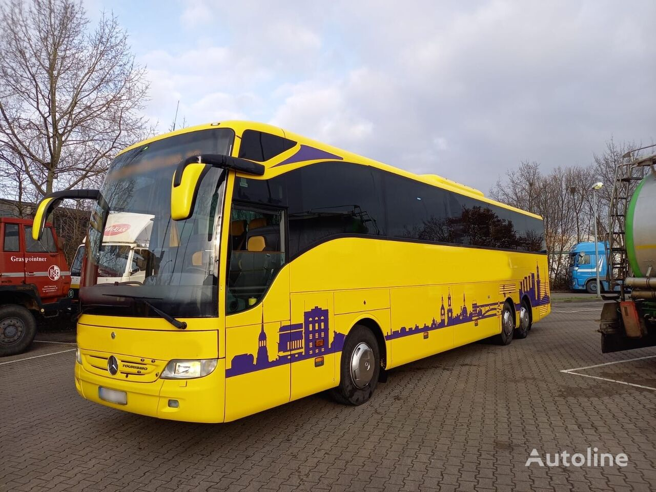 turistický autobus MERCEDES-BENZ 2x O350 RHD 16 EURO5