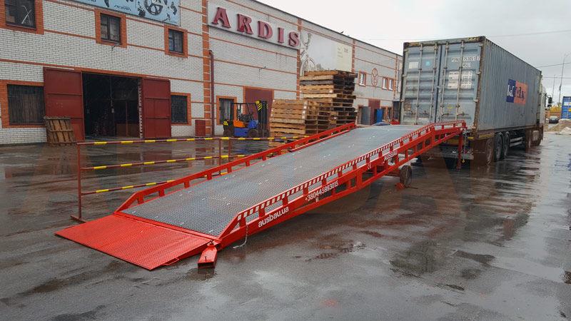 nový mobilná nakladacia rampa AUSBAU Mobile loading ramp, verladerampe, rampa mobilna, nakládací ramp