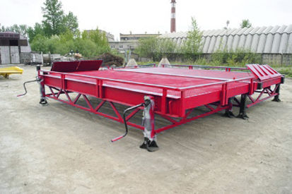 nový mobilná nakladacia rampa DOCKER Stationary Loading Ramp 8 ton RMM-2-23-40-8