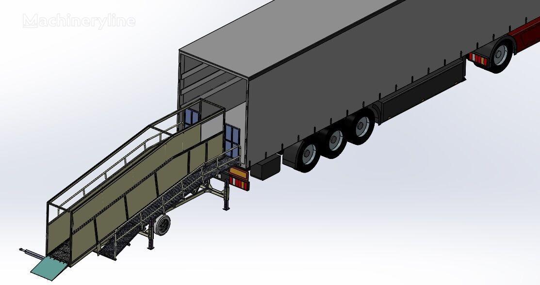 nový mobilná nakladacia rampa SAURUS Cattle Loading Ramp