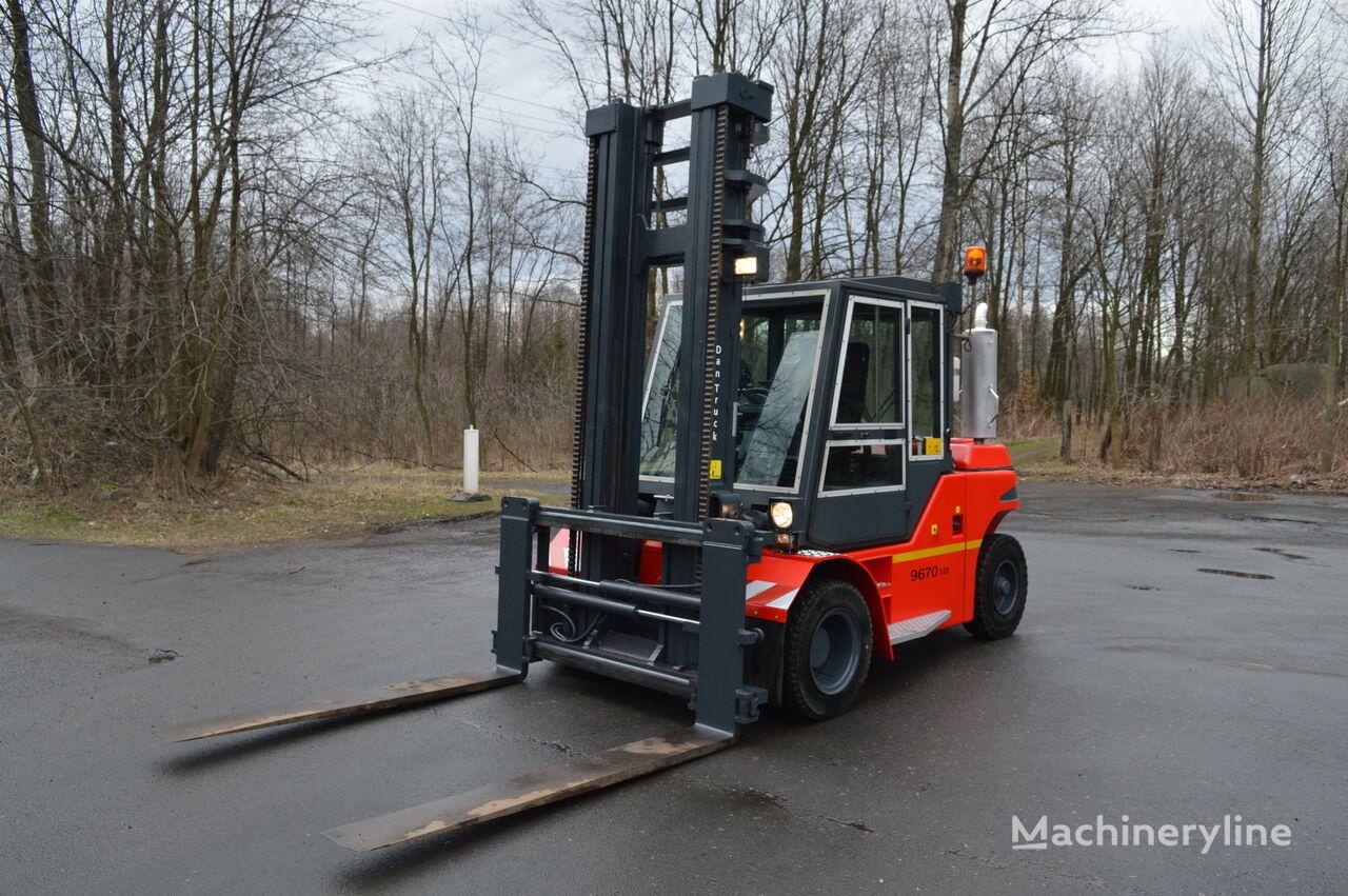 ťažkotonážny vysokozdvižný vozík JUNGHEINRICH DANTRUCK 9670 5,1m 7t pozycjoner
