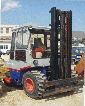 terénny vysokozdvižný vozík STILL DFG4-1820