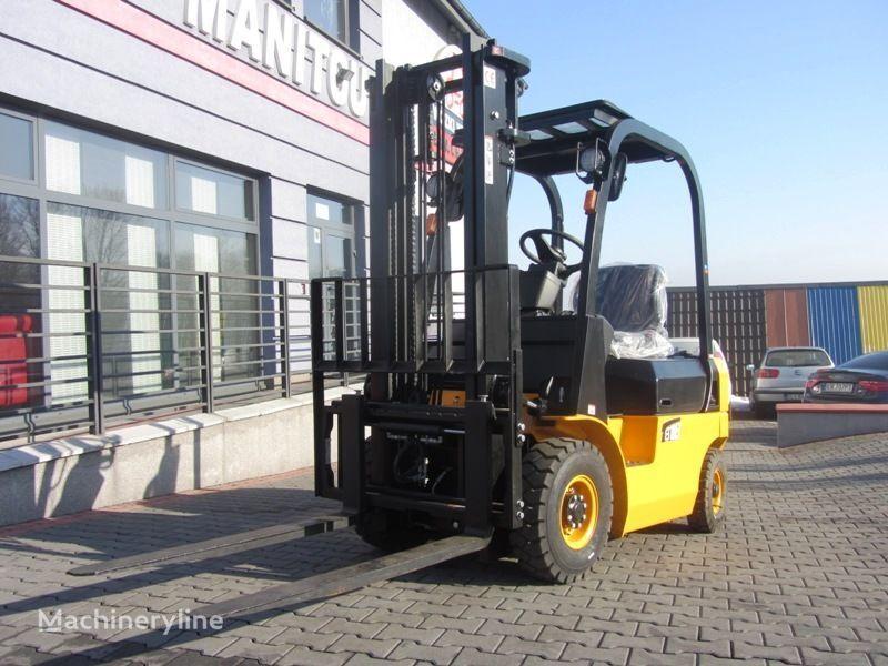 nový vysokozdvižný vidlicový vozík MITSUBISHI Blachdeker FD18 Side shift